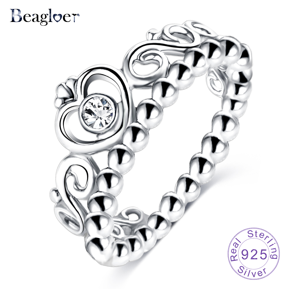Beagloer Exquisite 925 100% Solid Sterling Silver Rs