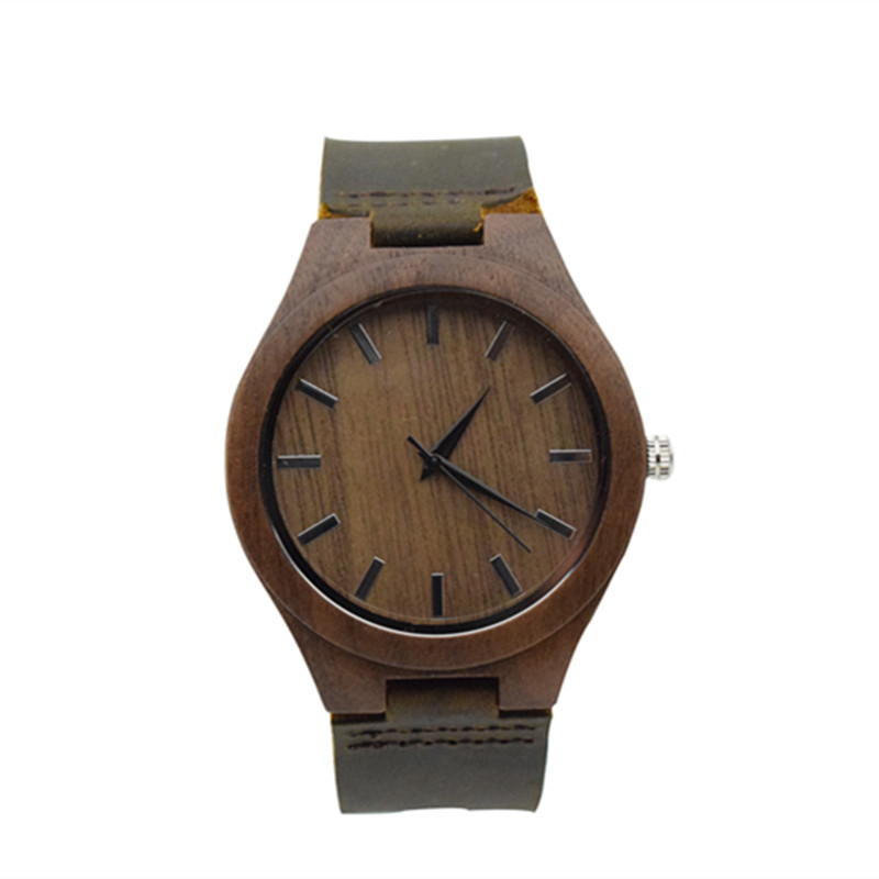 2018 Newest Fashion Wulnut Mens Wristwatch Business Watch For Husband With Genuine Leather Watchband Best Gifts