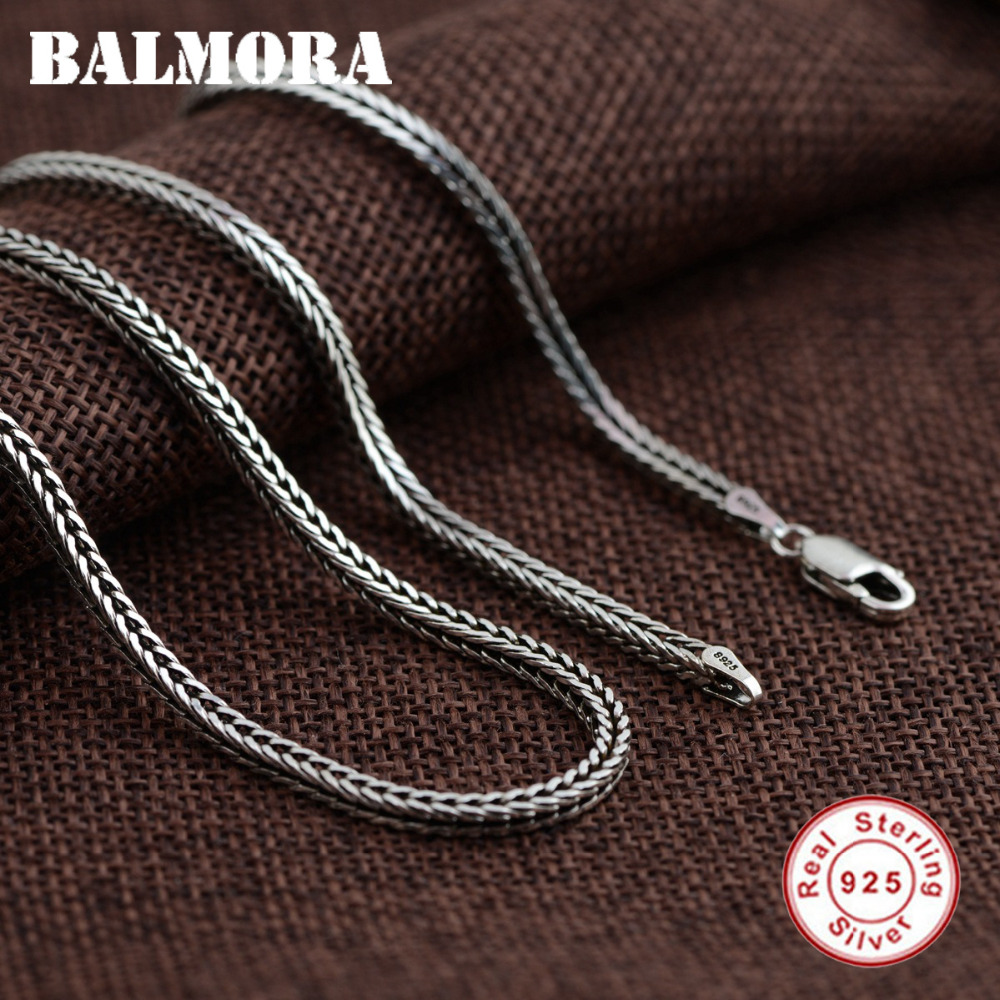 BALMORA 100% Pure 925 Sterling Silver Jewelry Chains Necklaces for Men Sterling Silver Necklace Accessories 18-30 inch JLWC60058BALMORA 100% Pure 925 Sterling Silver Jewelry Chains Necklaces for Men Sterling Silver Necklace Accessories 18-30 inch JLWC60058