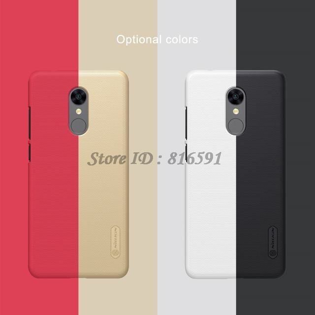 Nillkin Redmi Note 5 Frosted Hard PC Back Case Cover