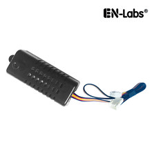 En-Labs 1 weg 3pin Fan Speed Controller, motherboard 3pin 4pin header zu fall fan 5V ~ 12V Regler Stufenlose Spannung Gouverneur(China)