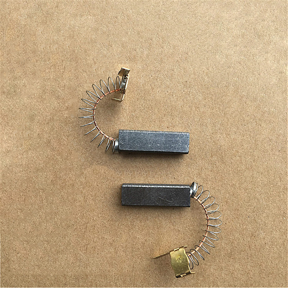 2pcs Motor Carbon Brushes For Philips Midea Haier LG Sanyo Vacuum Cleaner Parts Replacement Cleaning Brushes Accessories