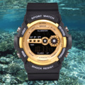 New S SHOCK resistant sports waterproof electronic LED DIGITAL Fashion army military watch men Casual Dual Times Kid Watch clock