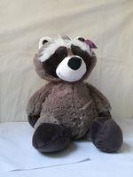 45cm lovely raccoon plush toy cartoon raccoon soft doll throw pillow birthday gift b4450