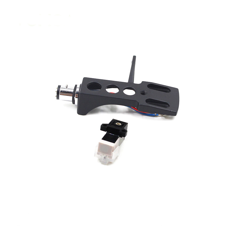 NEW Black Metal Turntable Headshell+AT3600L cartridge+ stylus for TURNTABLE Phonograph
