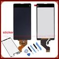 Para sony xperia z1 mini compacto d5503 z1 pantalla lcd con digitalizador de pantalla táctil + herramientas + sticker envío libre