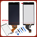 Para sony xperia z1 mini d5503 z1 compacto lcd screen display com digitador touch screen + ferramentas + adesivo frete grátis