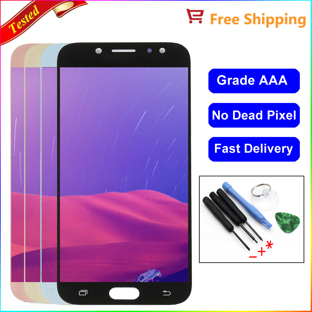 US $20 44 31% OFF j730 LCD For SAMSUNG Galaxy J7 Pro 2017 LCD J730 J730F  Display Touch Screen Digitizer J730 LCD for SAMSUNG J7 Pro Screen-in Mobile