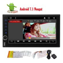 EinCar Double Din Android 7.1 in Dash Car Stereo Radio GPS Navigation Support WiFi Bluetooth Hands-free OBD2 3G/4G Dual Cam-in