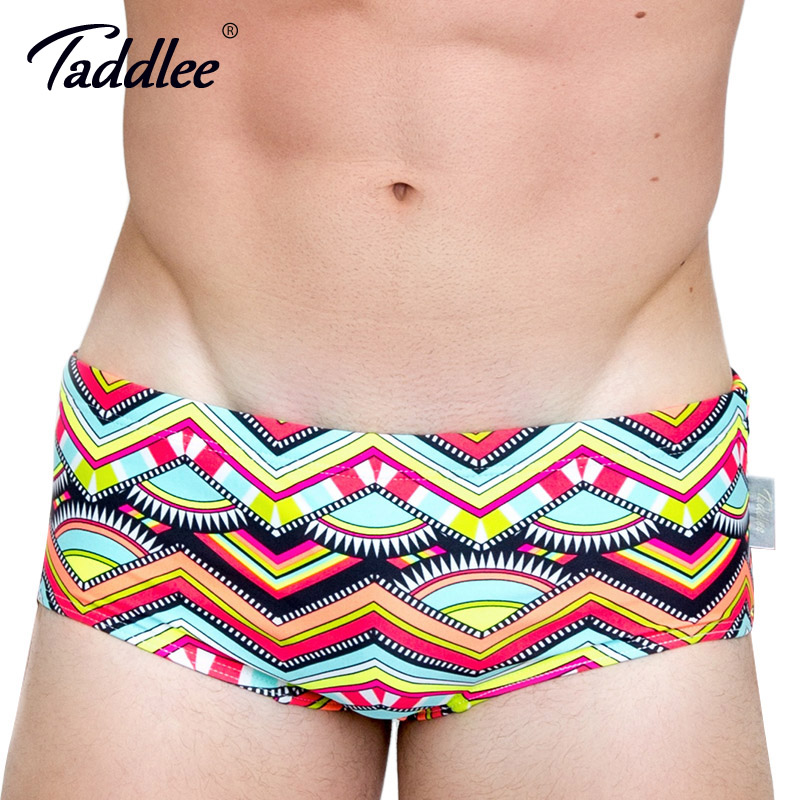 Taddlee Brand Sexy Mens Swimwear Swimsuits Swim Brief Bikini Surfing Board Shorts Bathing Suits XXL Swimming Boxer Trunks Gay