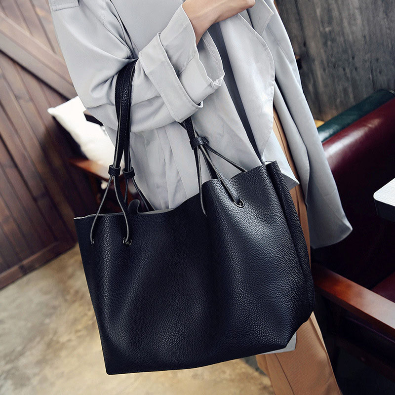 Handbag Shoulder-Bag Travel Large-Capacity Best-Sale-Wt Durable Women Lady PU for Composite