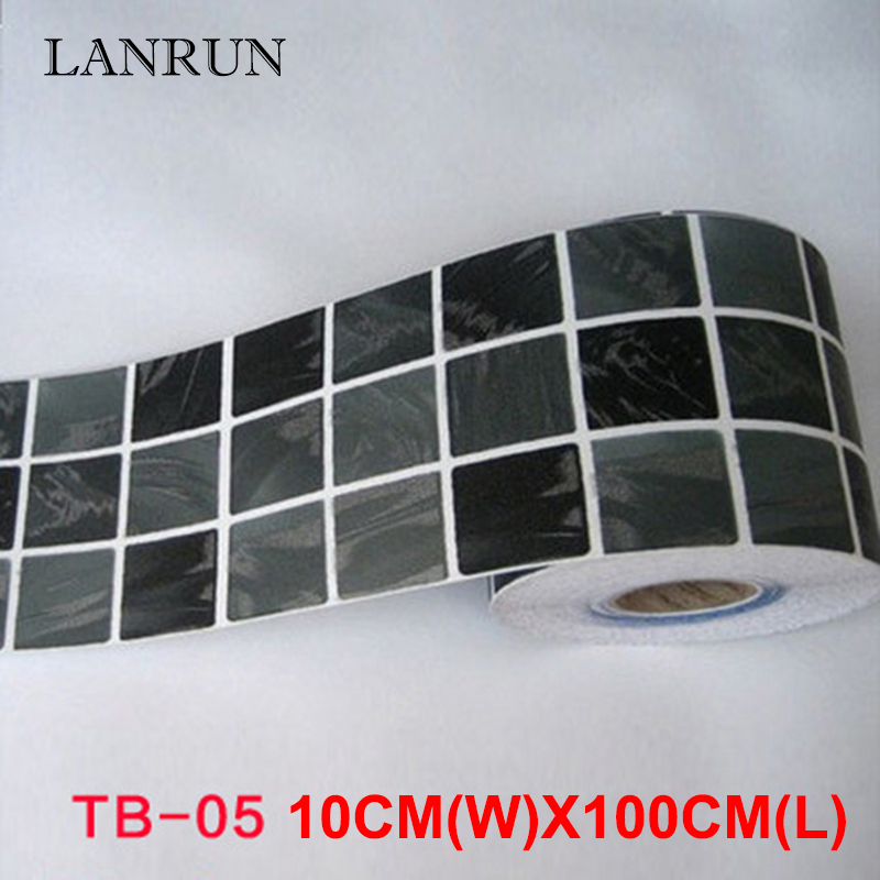 5M Waist Line Wall Sticker Köksvrist Linje Lim Toalett Badrum - Heminredning - Foto 6