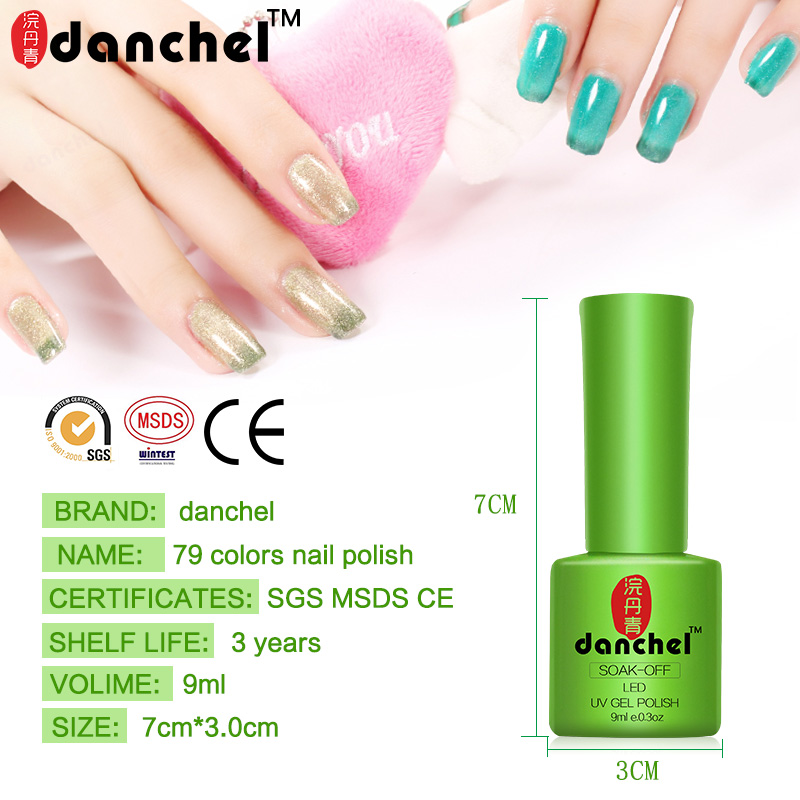 Danchel Gelpolish Nail Gel Soak Off UV Gel Polish Barniz 79 Pure - Arte de uñas - foto 3