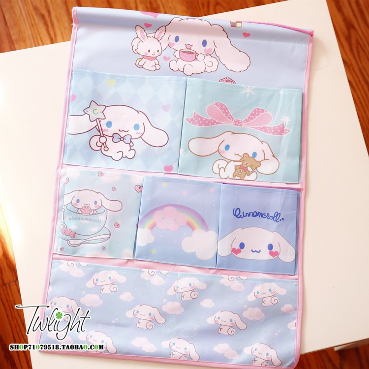 10models Cartoon Cute Melody Twin Stars Cinnamoroll Bags For Phones Home Decoration Dolls Accessories Collection