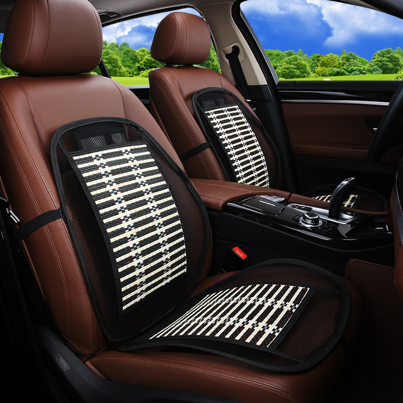 Waist waist support car driving by car cushion lumbar cushion seat lumbar support of bamboo cushion for leaning on of the four s