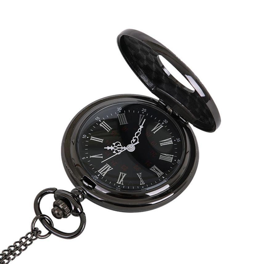 OTOKY 2019 Fashion Pocket Watch Vintage Relogio De Bolso Rome Numberal Retro Reloj De Bolsillo Necklace Grandpa Gifts