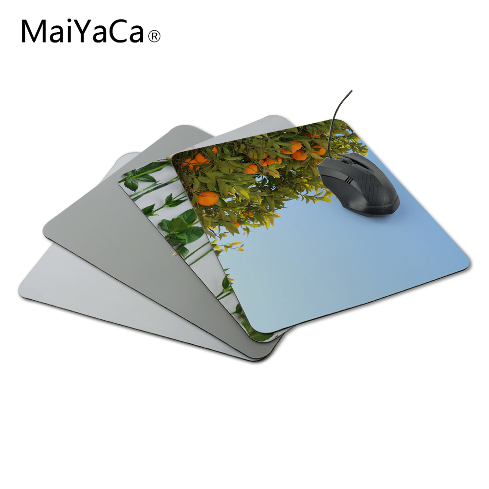 MaiYaCa Rubber Mouse Pad Gaming Mousepad Notbook Computer Mouse Pad Cool to Mouse Gamer Free Shipping For Orange tree