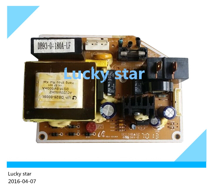 95% new for Air conditioning computer board circuit board DB93-04180A-LF DB93-04233P-LF DB41-00496A good working wire universal board computer board six lines 0040400256 0040400257 used disassemble
