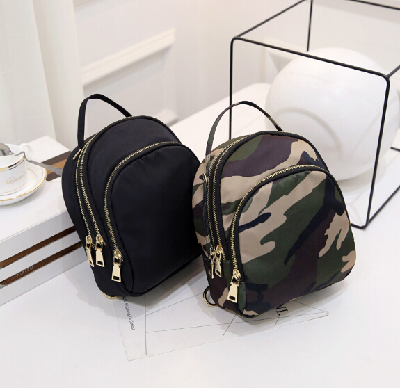 Fashion girl Lady Backpacks nylon Preppy style Casual Shoulders double shoulder Bag schoolbag q 598633ss