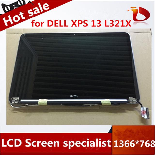 """Envío de la alta calidad 13.3 """"pantalla lcd para dell xps 13 l321x ultrabook asamblea completa pantalla 1366*768"""