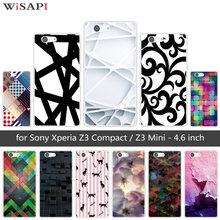 for Sony Xperia Z3 Compact Mini D5803 D5833 Soft TPU Cases Clear Silicone Bizarre Back Cover for Sony Xperia Z3 Mini Coque(China)