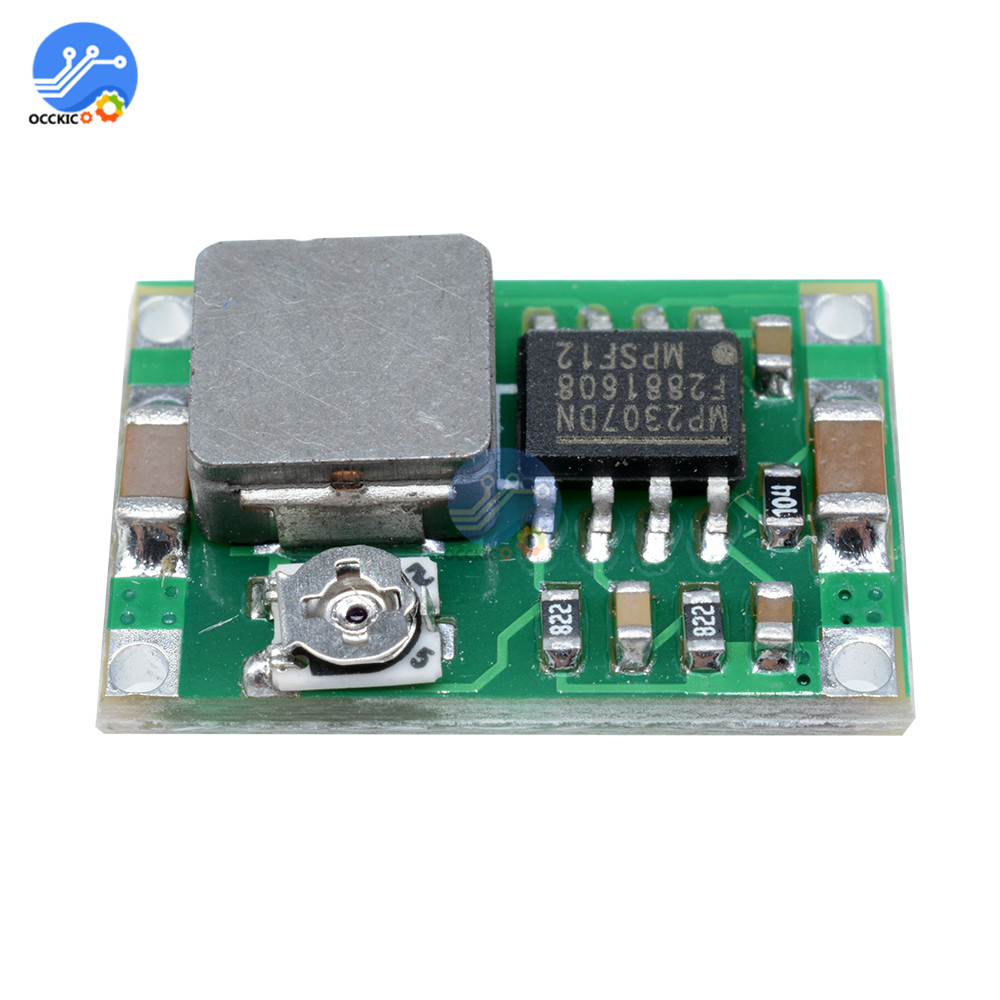 1pcs Mini360 DC-DC Buck Converter Step Down Charging Module 4.75V-23V To 1V-17V 3A Power Supply Balancer 17x11x3.8mm SG125-SZ+