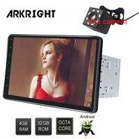 ARKRIGHT 8,1 2Din Octa Core 4 + 32 ГБ Android 10,1 Авторадио для автомобиля Toyota Prado мультимедийный музыкальный плеер gps Встроенный DSP