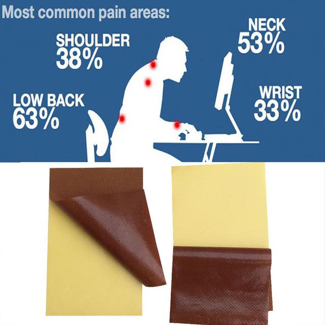 40Pcs Medical Plaster Eliminate Inflammation Pain Relief Back/Neck/Foot Health Care Plaster  Pain Disease Rheumatoid Arthritis