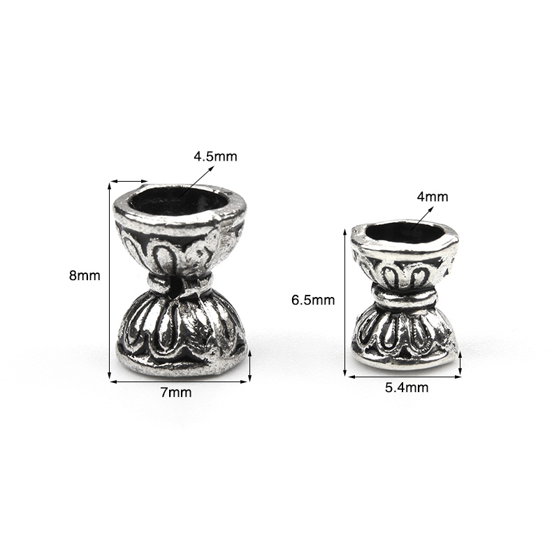 50pcs/lot new retro double Lotus 8*8 bead caps for Necklaces bracelets diy jewelry accessories rv 130 фигурка овца это не я w stratford
