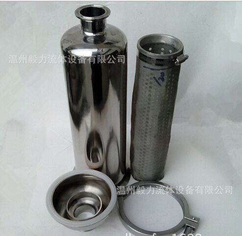 304 Stainless Steel Inline Strainer Homebrew 100 mesh 1 5 beer Inline Strainer