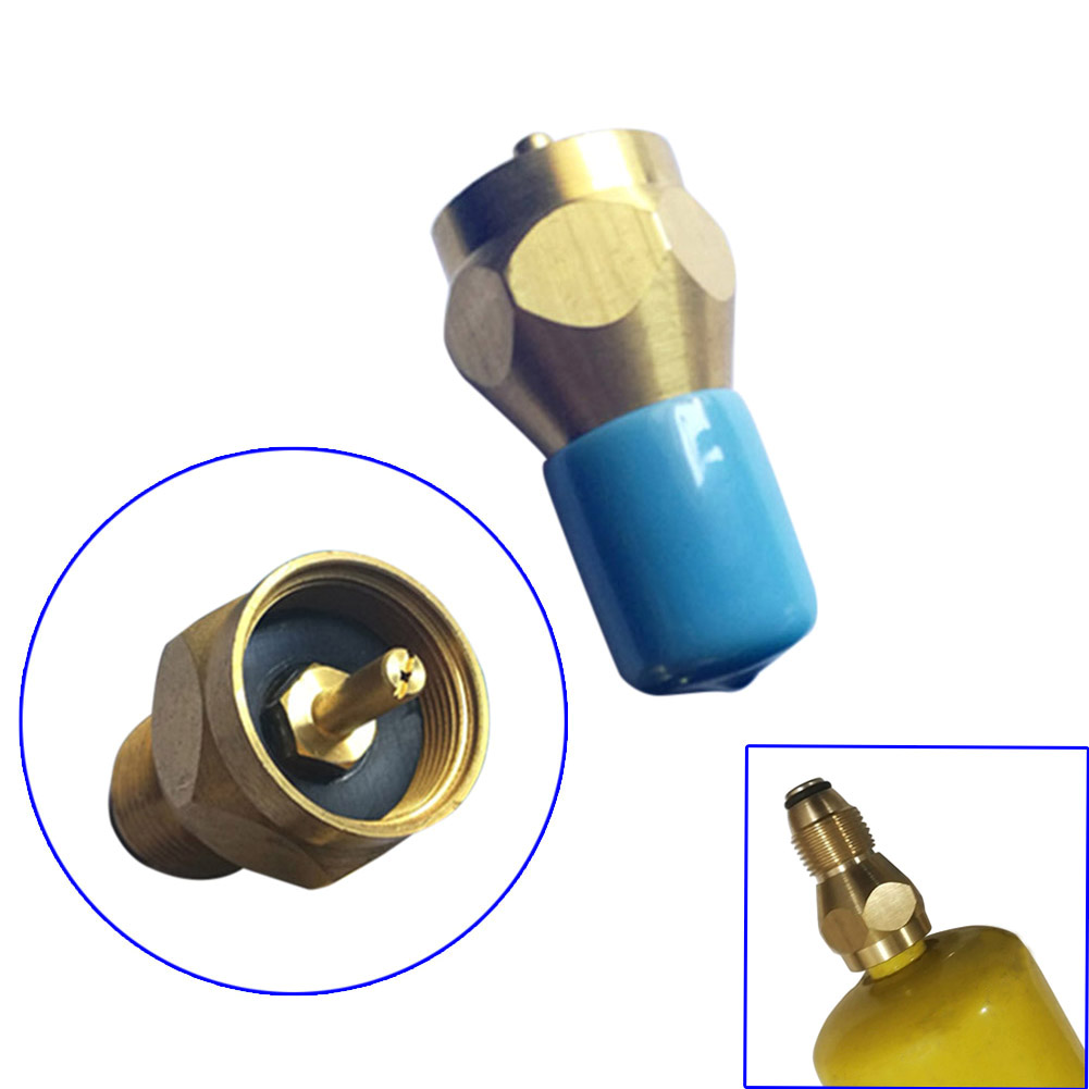 Stove Propane Refill Adapter Outdoor Camping Hiking Lp Gas Connector 1 Lb Cylinder Tank Heater ALI88 free shipping the freescale pressuer sensors mpxm2053gs 100% new 5pcs a lot
