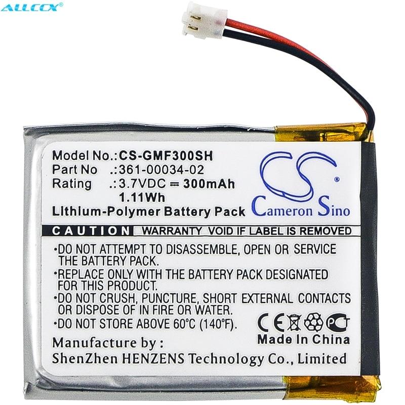 150mAh//3.7V Battery Replacement for Garmin 3LA037240 Edge 130 361-00086-02