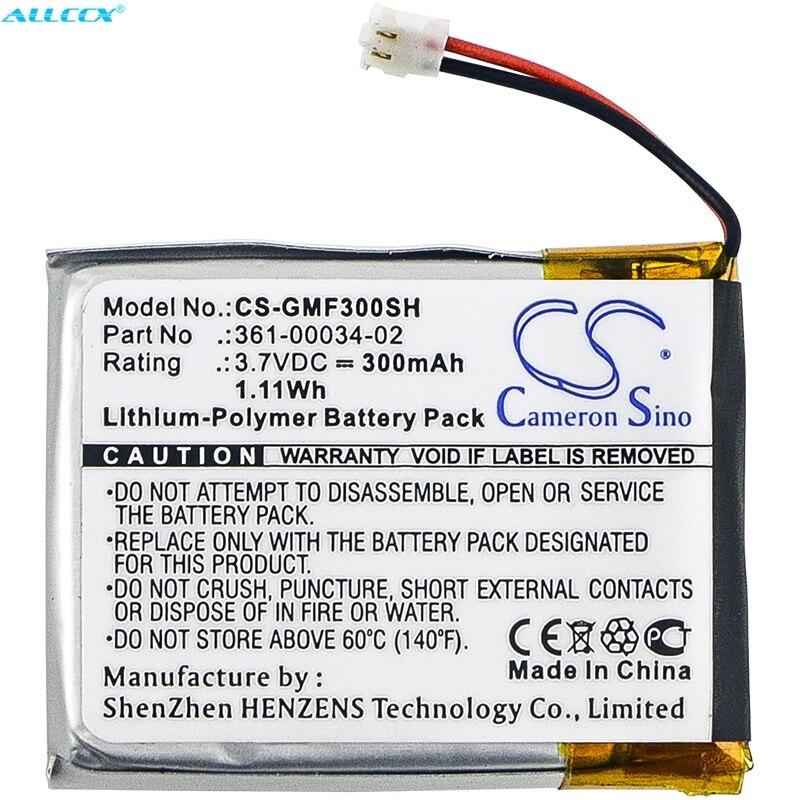 Cameron Sino 300mAh Battery 361-00034-02 For Garmin Fenix 3,Fenix 3 HR