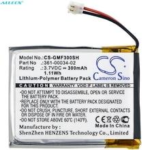 Cameron Sino 300mAh Battery 361 00034 02 for Garmin Fenix 3,Fenix 3 HR