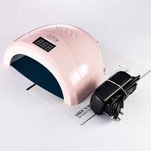 高品質 SUN1S 24 ワット/48 ワット Led ネイルランプネイルドライヤー自動感知 UV ランプ硬化 uv LED ジェルネイルポリッシュネイルアートツール