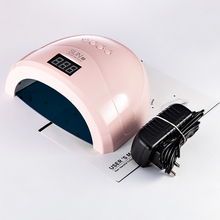 SUN1S Lámpara Led para secado de uñas, secador de uñas de 24W/48W, lámpara UV de detección automática para curado de uñas en Gel, herramientas de arte de uñas