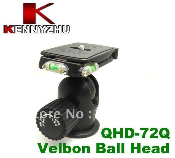 Velbon Magnesium PRO Ball Head Ballhead QHD-72Q With Quick Release & Bubble Level For DSLR Tripod