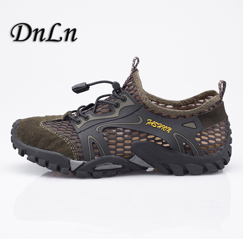 New Men Summer Mesh Shoes Breathable Outdoor Sandals Spring/Summer Trekking Sandals Big Size Men Mountain Climbing Sandals ZT40