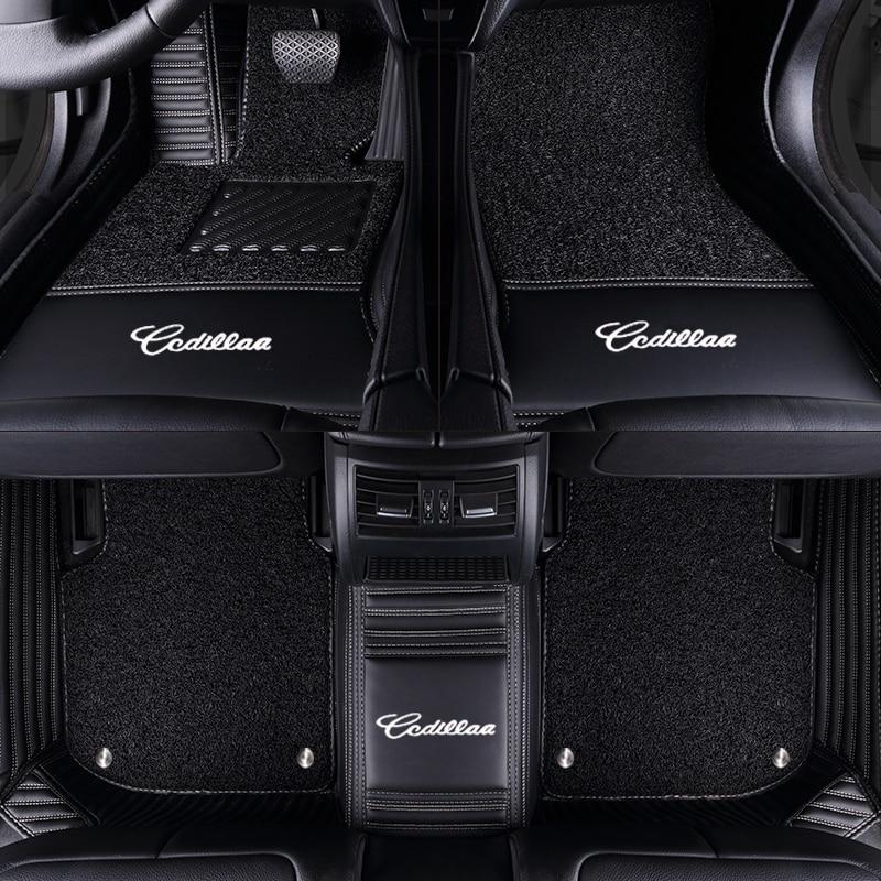 TENGRUI Custom Car Floor Mats High-end Chinese Embroid for Audi A1 A3 A4 A4l A5 A6 A6L A7 A8 Q3 Q5 Q7 S and RS series Floor Mat