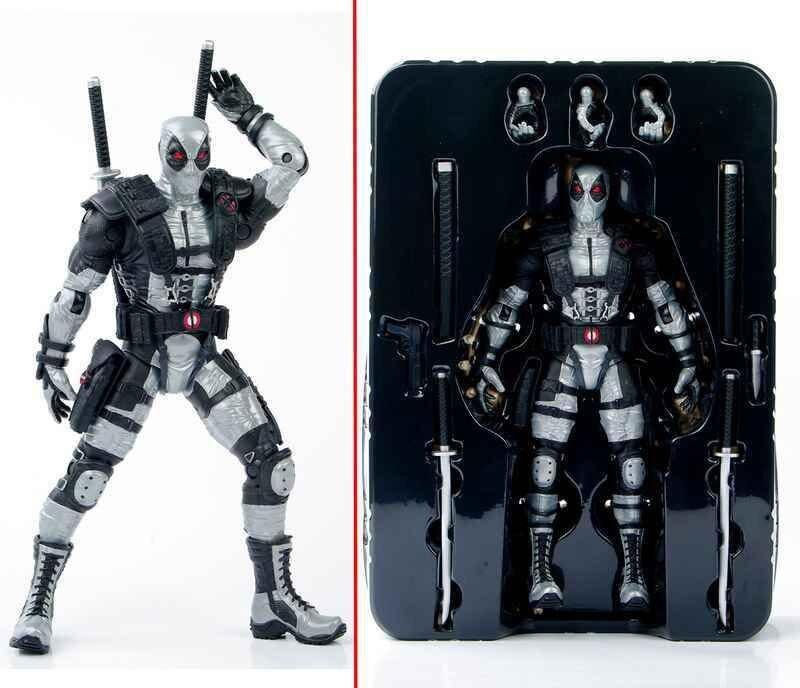 Aliexpress.com : Buy Collectible Gray Deadpool Action