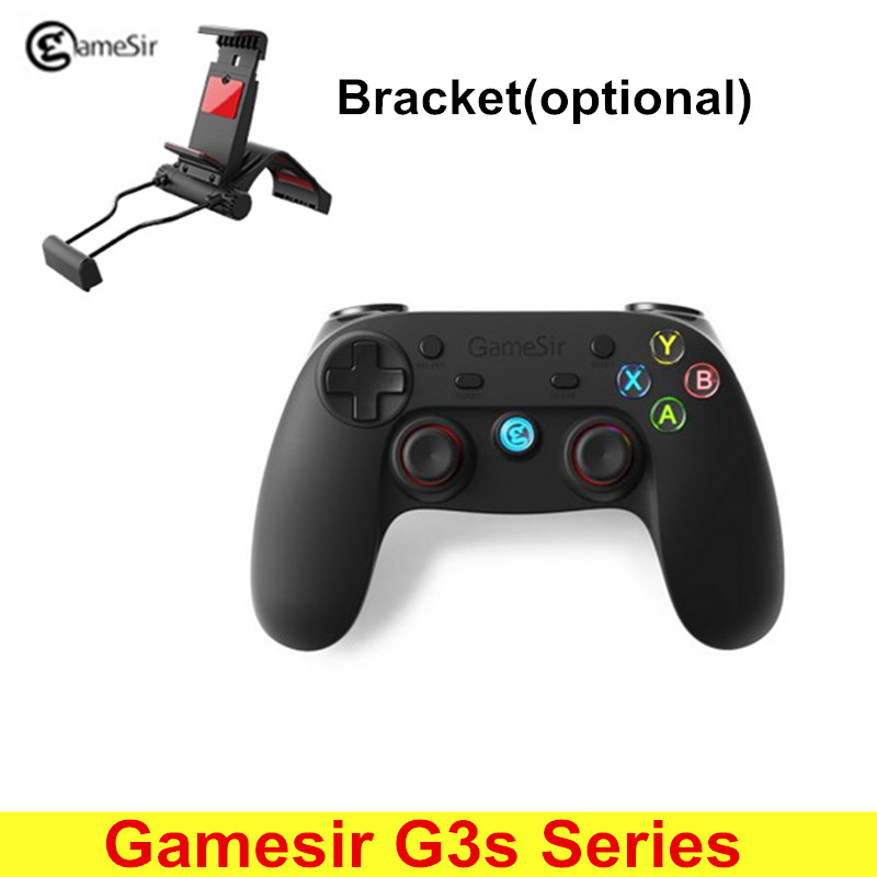 Original GameSir G3s Gamepad for PS3 Controller Bluetooth 2.4GHz Joystick PC for Samsung Gear VR Box SONY Playstation 3 gamesir g3s wireless gamepad enhanced edition green