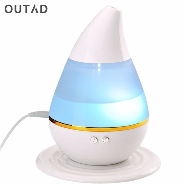 Car Ultrasound humidifier USB Air Aroma Humidifier With 7 Color Lights Electric Aromatherapy Essential Oil Aroma Diffuser