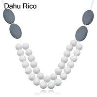 silicone long necklace ofertas calientes con envio gratis necklaces pendants indian jewelry gioielli Dahu Rico necklaces
