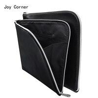A4 PU Leather Folder A4 Paper Holder Office File Folders Leather Folder For Papers Documents Bag