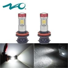 НАО 2x h11 противотуманные светодиодные фары hb4 светодио дный лампа для passat b6 Авто 12 В H16 H9 hb3 светодио дный лампы автомобилей DRL H10 9006 автомобиль свет 9005