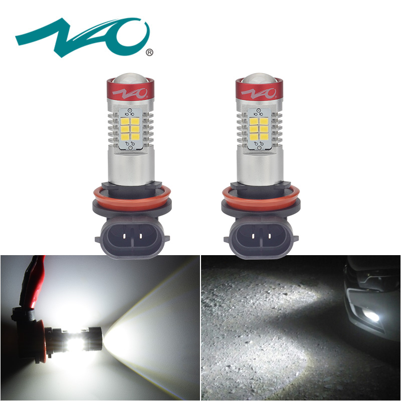NAO 2x h11 led auto fog light hb4 led lamp for passat b6 auto 12V H16 H9 hb3 led bulb Automobiles DRL H10 9006 car light 9005 nao nao for all we know 2 lp