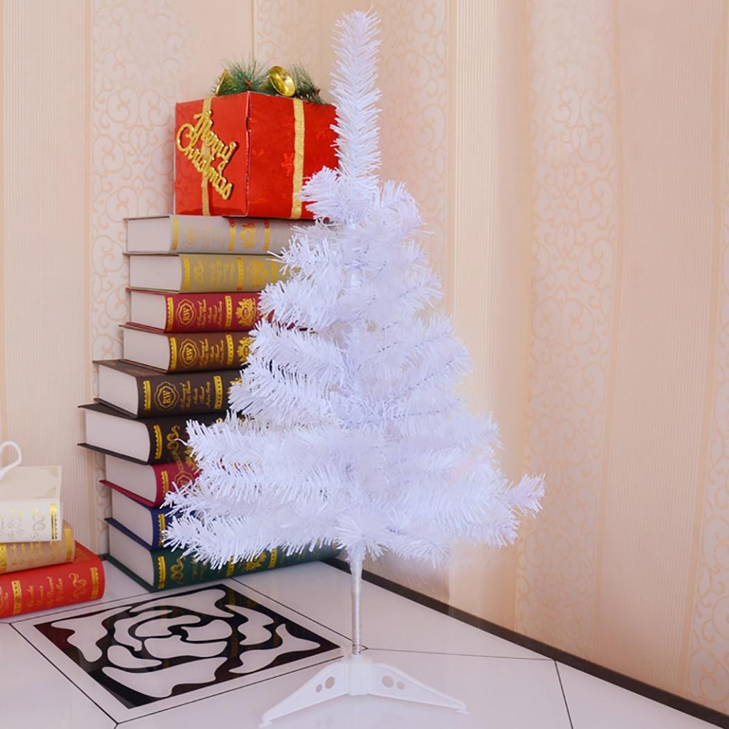 60 cm Künstliche Weihnachten Baum Kreative Lametta Tabletop Ornament Weiß Xmas Baum Neue Jahr Desktop Dekorationen Hause Ornamente