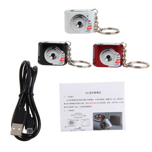X3 Micro Transportable HD Mega Pixel Pocket Video Audio Digital Digital camera Mini Camcorder 480P DV DVR Driving Recorder Net Cam 720P JPG