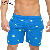 Taddlee Brand Men S Beach Board Shorts Swimwear Swimsuits Boardshorts Casual Leisure Boxer Trunks Short Bottoms