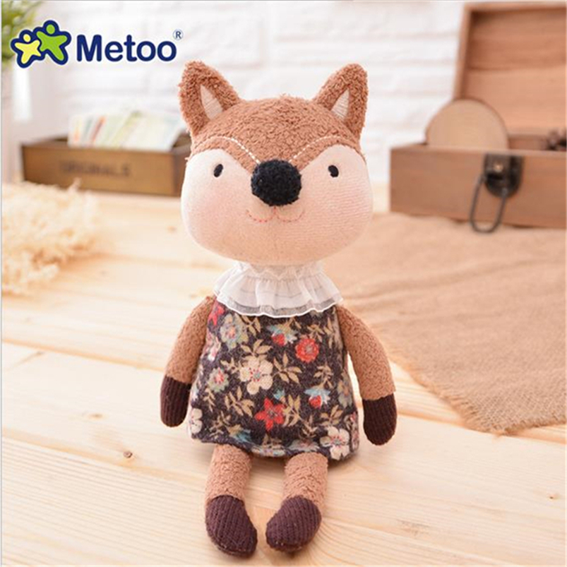 20CM 1PCS Metoo Doll Animal Stuffed Soft Toy Baby Plush Toy Keychain Bags Mobile Phone Pendant Children Birthday Gift Z22
